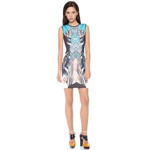 Rare Print Clover Canyon Bodycon Patterned Dress